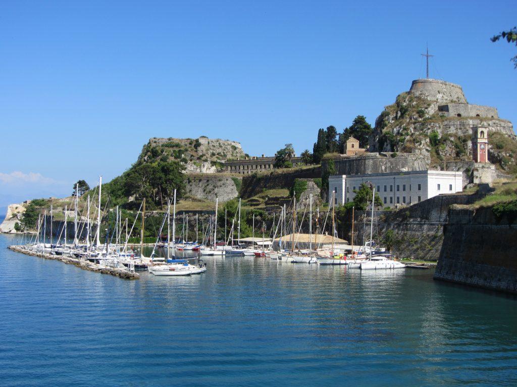 corfu greece corfu town old fort Old Fortress Corfu