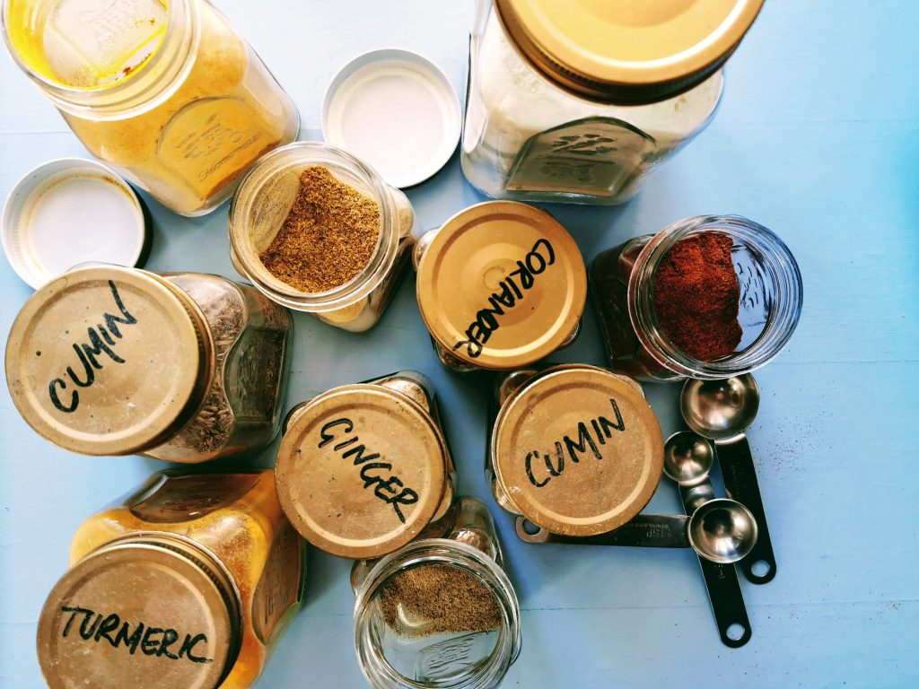 Turmeric curry powder mix bells palsy and arthritis
